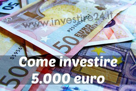 Investire 10 euro forex